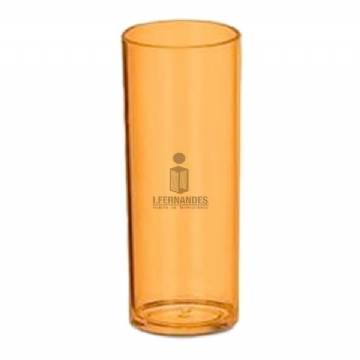 Foto Copo Long Drink 300ml - Personalizar - Laranja - Kit c/ 40pç