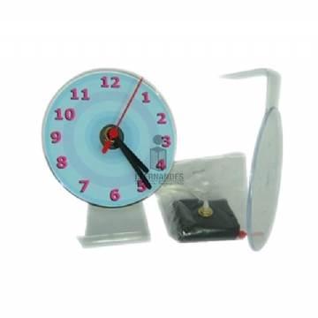 07c63278361 Foto Relógio de mesa com visor - Incolor - Personalizar (sem embalagem) -  Kit