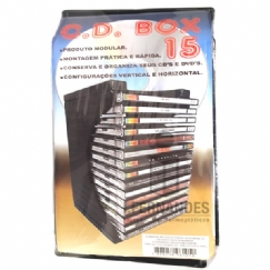 Foto Porta CD Box-15 - kit c/ 01pç